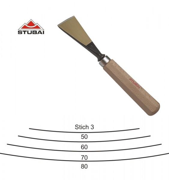 Stubai Standard - Schweizer Form - Stich 3 scharf