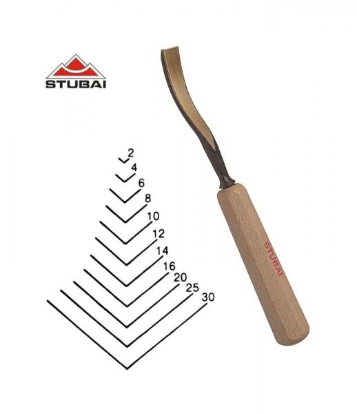 Stubai Standard - Stich 45 - längsgekröpfter Gaißfuß 100° scharf