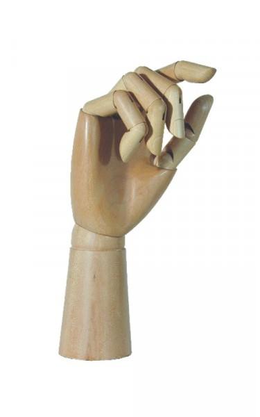 Holzgliederhand - rechts