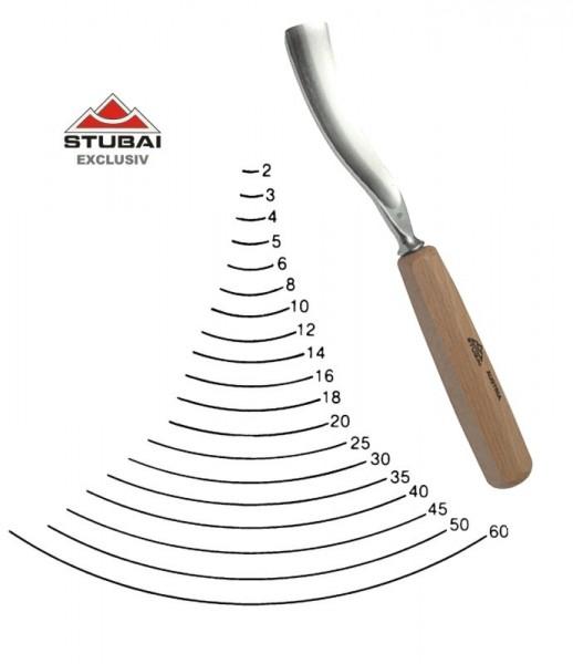 Stubai Exclusiv Stich 4 - längsgekröpfte Form