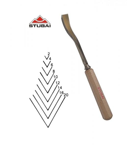 Stubai Standard - Stich 41 - kurzgekröpfte Gaißfuß 60° scharf