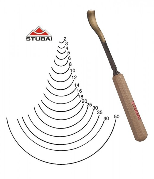 Stubai Standard - Stich 9 - kurzgekröpfte Form