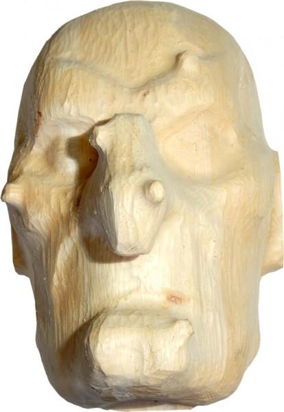 Hexenmaske, 30 x 26 x 20 cm