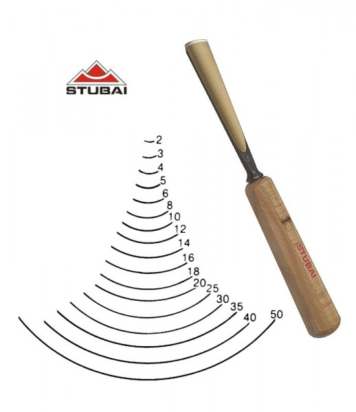 Stubai Standard - Stich 7 - gerade Form scharf