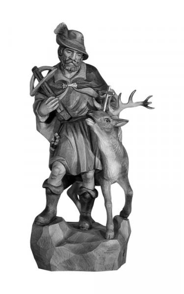 Hl. Hubertus mit Hirsch