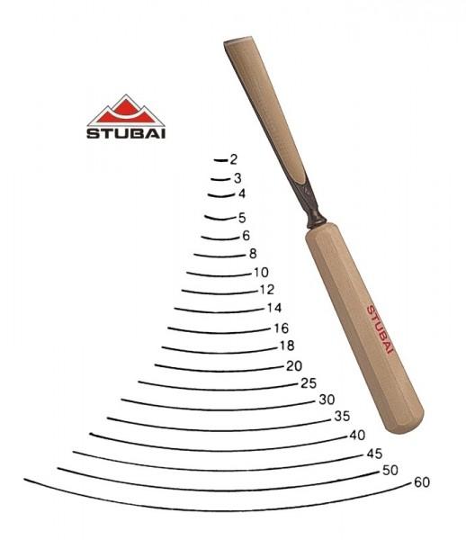 Stubai Standard - Stich 4 - gerade Form scharf