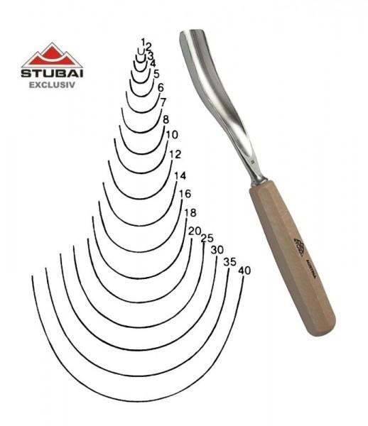 Stubai Exclusiv Stich 11 - längsgekröpfte Form