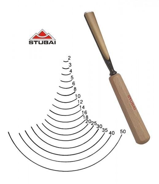 Stubai Standard - Stich 8 - gerade Form scharf